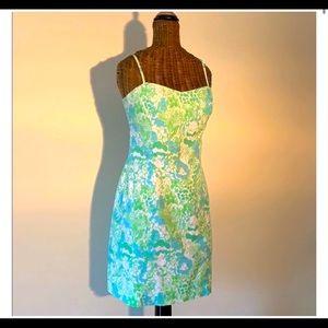 Green/Blue Summer Dress